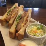 Cafeルチア - 料理写真:トーストサンド(2018.12.現在)