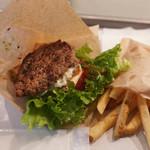 the 3rd Burger - モッツァレラローカーボバーガー