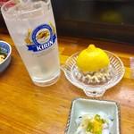 魚魚や - 料理写真:生搾りレモンサワー