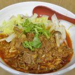 秦唐記 - たまに行くならこんな店は、世にも珍しい陝西省西安名物のBiangbiang麺が楽しめる「秦唐記」です。