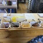 リズムアンドベーカリー - 料理写真:ここで調理します