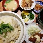 美味 秋藤 - 稲庭定食