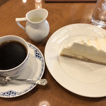 自家焙煎椿屋珈琲 - ケーキセット850円