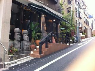 トム ボーイ カフェ 渋谷円山町店 - 外の様子