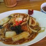 中国料理 力屋亭 - 料理写真:あんかけ焼きソバ750円