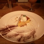 足袋のTOBICHI - ベイクドチーズケーキ