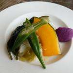 カフェ&ヤド コモ - 料理写真:島野菜の前菜盛