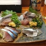 浜茂鮨 - 光物5点盛り