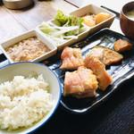 てまひま - 『選べるランチ(鶏肉)』 税込680円