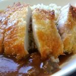 山の洋食屋 フレール - カレー♪のご飯は玄米を選択