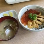 漁師の店 - お好み丼(ウニ・いくら)