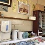 漁師の店 - お茶などはセルフ