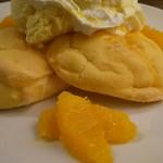カフェブルー - オレンジパンケーキアップ