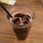 カフェブルー - セットのアイスコーヒー