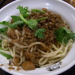 台南担仔麺 - 参考:林森北路は台南大胖担仔麺の汁無し担仔麺