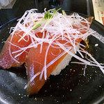 回転寿し 旬楽 - 漬けマグロ2013/01