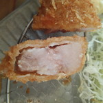 アレマンニャ - 料理写真:ロースカツ断面