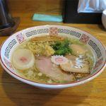 らーめん心繋 - 料理写真:生姜塩+味玉(750円+100円)
