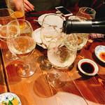 つきじ川食堂ひさ野 - ワインでわいわい