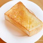 ポム・ダダン - セントル ザ・ベーカリーの厚切りバタートースト