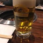清香苑 - 生ビール キリン一番搾り
