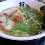 らー麺藤平 - 梅白醤油ラーメン