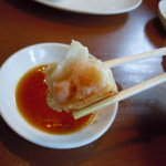らー麺藤平 - 海老ギョウザ