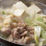 居酒屋よしざいる - 鶏水炊き鍋(完成版)