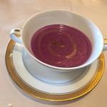 サロット・デ・カナ - 料理写真:紫芋のスープ