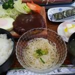レストランきく松 - 料理写真:ハンバーグ定食
