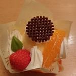 美栄堂 - オレンジのムース