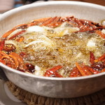 蔓山 - 料理写真:地御前産牡蠣のオイル煮