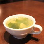 カフェ シュエット - 中華風スープ