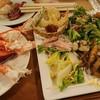カトレア - 料理写真:1812_カトレア_夕食ビュッフェ@3,888円_蟹はうーん。。。の味です。まぁ、ホテルビュッフェですし、、、