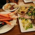 カトレア - 1812_カトレア_夕食ビュッフェ@3,888円_見た目はあれですがサラダが非常に美味しい!
