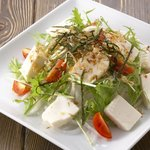 居酒屋よしざいる - 豆腐のヘルシーサラダ