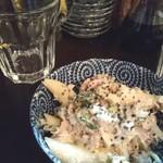 アキバの酒場 - テッパンのマカロニサラダはEDGEが利いてる!