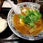 にぼらや - 煮干しラーメン:800円