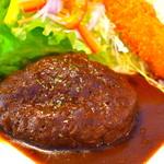 ハンバーグランチ ~ご飯・味噌汁付~