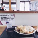 うわさの麺蔵 - とり天ざる 小 です( ´ ▽ ` )