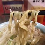 99296807 - ラーメン(野菜,ニンニク,アブラ)