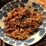 つる来 - 酵素玄米のアップ。