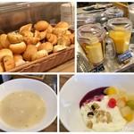 トラットリア バジル - 朝食 ビュッフェ