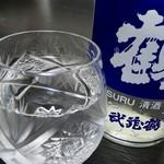 道の駅おがわまち - ドリンク写真:武蔵鶴 ツルカップ