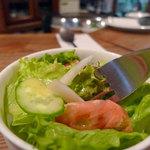エアーフラッシュ - エアーフラッシュ ランチのサラダ