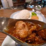 エアーフラッシュ - 牡蠣のカレー