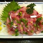 そば処 かねこ - 110227 鯵タタキ定食1150円