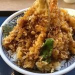 日本橋 天丼 金子半之助 - 上天丼 1058円。