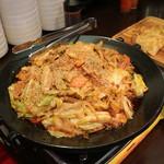 オッパ - 野菜の味噌炒め