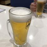 はま寿司 - 2018年12月26日  生ビール(アサヒスーパードライ)